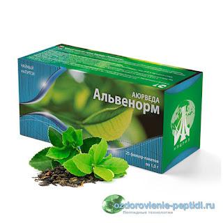 Альвенорм - чай для нормализации работы дыхательной системы