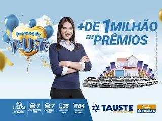 Cadastrar promoção Tauste supermercados mais de 1 milhão prêmios