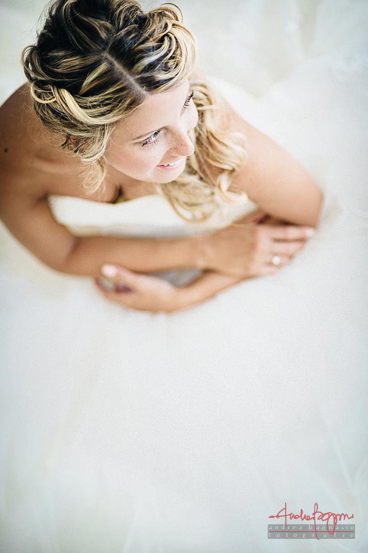 ritratto sposa fotografo di matrimonio Genova