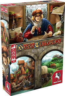 Como jugar Hansa Teutonica big box the board game