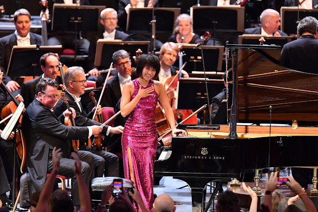Prom 63 - Yuja Wang, Dresden Staatskapelle - BBC Proms (Photo BBC / Chris Christodoulou)