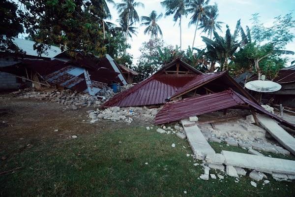 Lima Kali Gempa Beruntun di Ambon, 94 Rumah Warga Alami Kerusakan