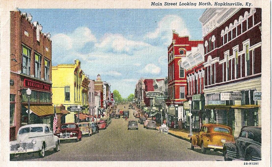 Prairie Bluestem: A Fine Old Building on Hopkinsville's Main Street
