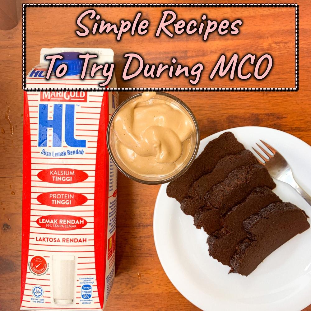 Covid-19, Kek Milo Viral, Dalgona Coffee, Resipi Viral, Viral Recipes, resipi mudah ketika Perintah Kawalan Pergerakan, Rawlins Eats, Rawlins GLAM
