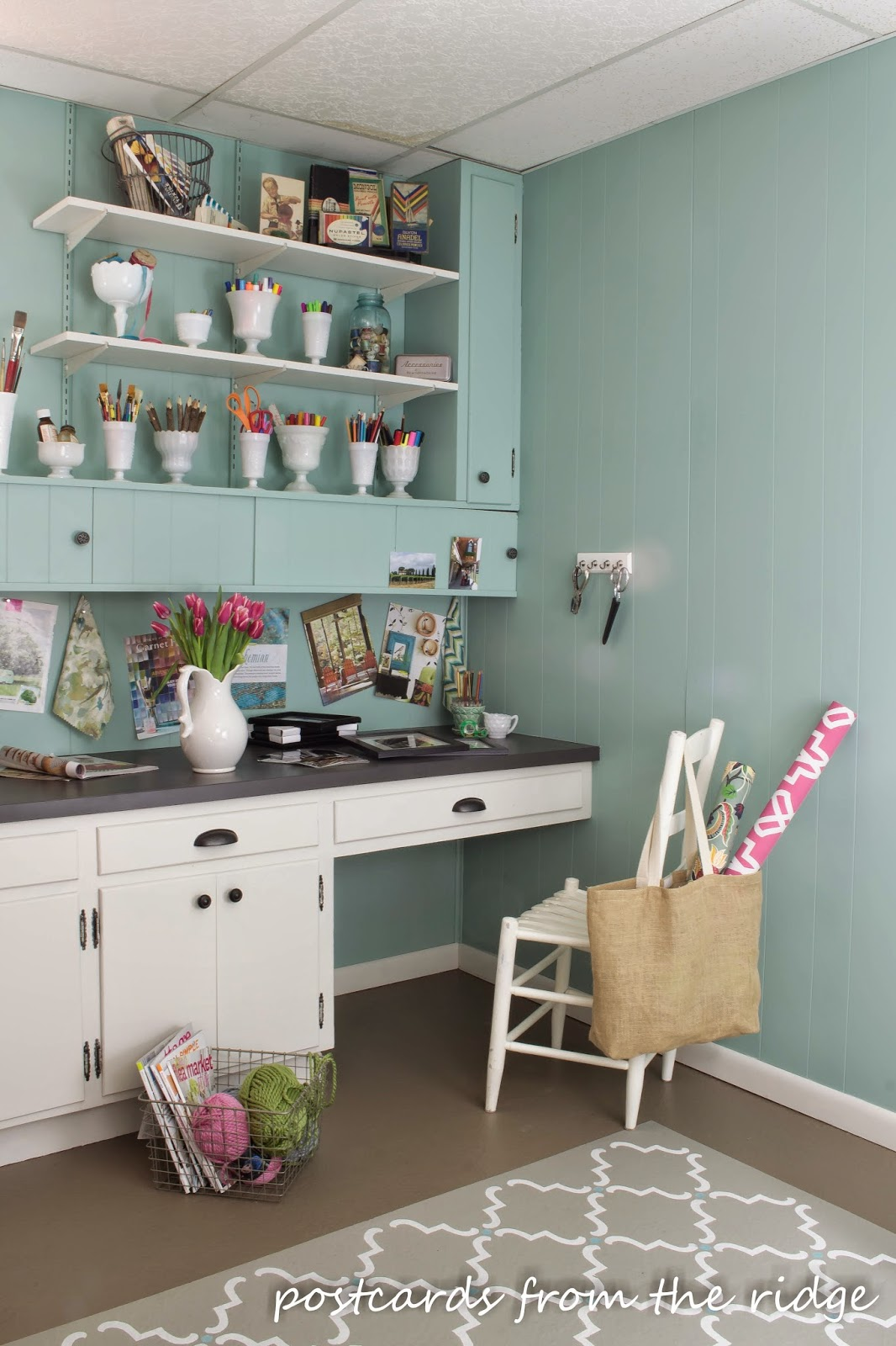 Powder Room Plans + Tales of our very own Fixer Upper | Postcards ...