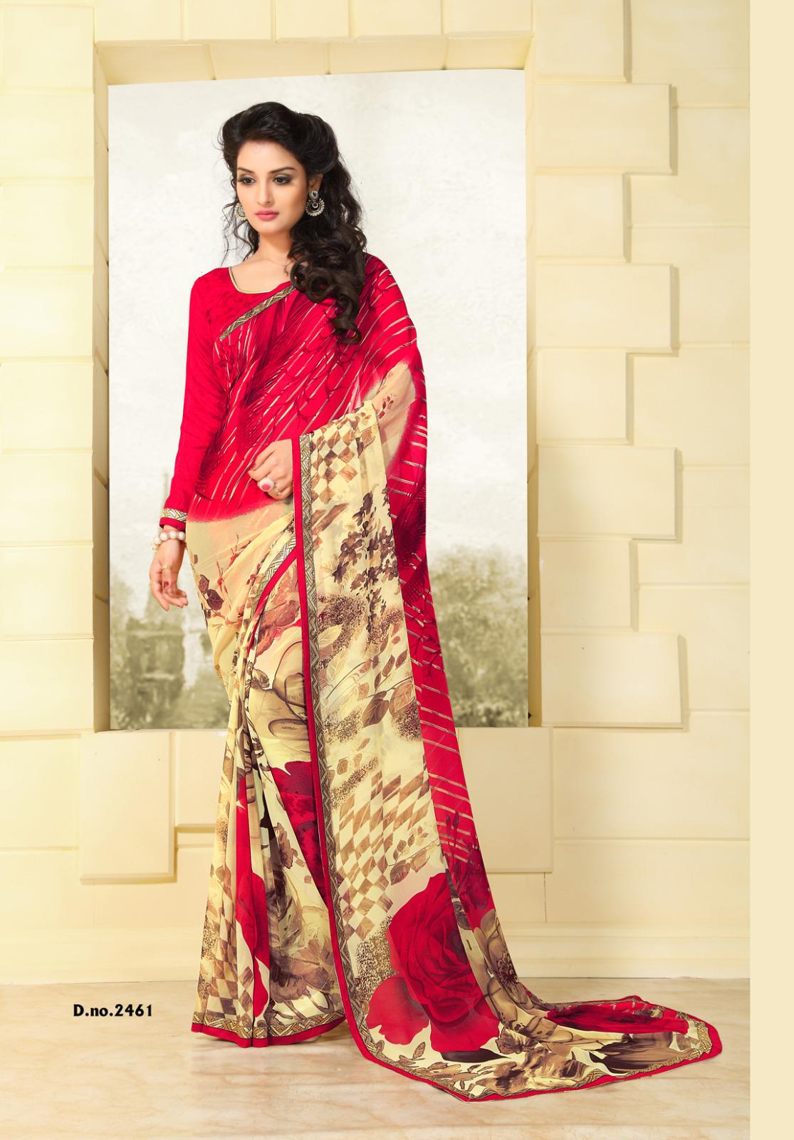 Heritage Vol 9 – Fancy Fabric Printed Saree