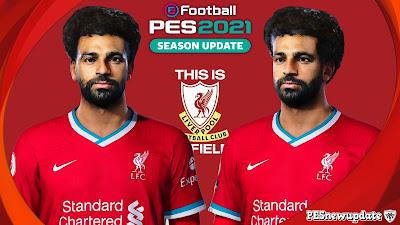 PES 2021 Faces Mohamed Salah by Abdo Mohamed