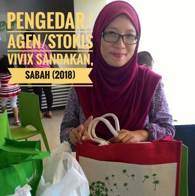 PENGEDAR VIVIX SHAKLEE SABAH (2018)