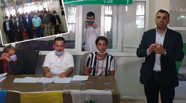 HDP Bozova ilçe eşbaşkanları belli oldu