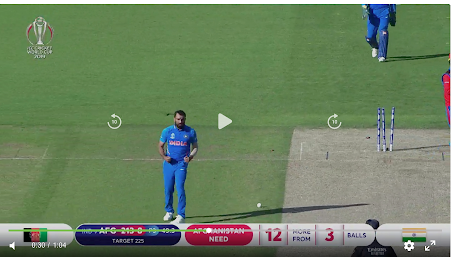 Watch the Video : how Shami take his maiden Hat-trick in world cup 2019