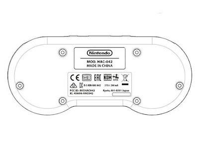 Brevetto depositato del controller Super Nintendo per Switch Online