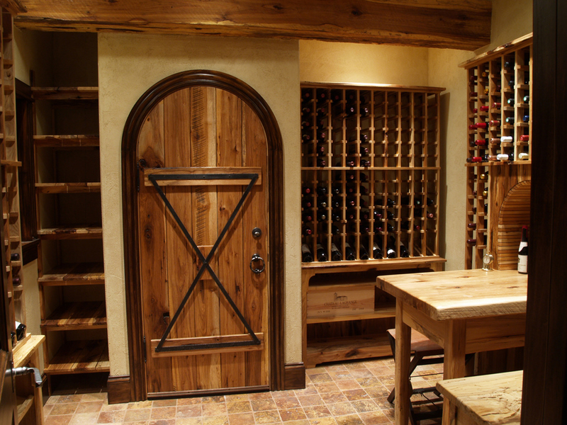 Luxury Temperature Controlled Wine Room