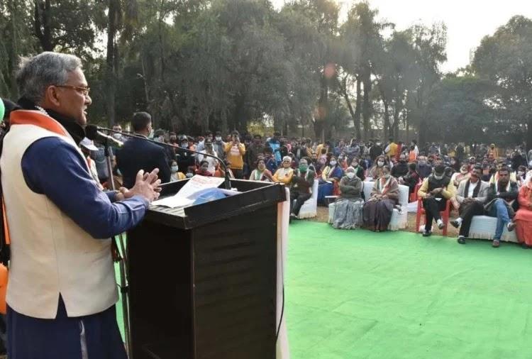 उत्तराखंड के मुख्यमंत्री त्रिवेंद्र सिंह रावत