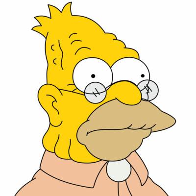 Los Simpson Personaje Abe Simpson