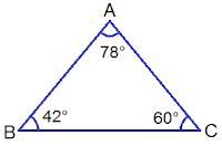 Acute Angled Triangle ABC