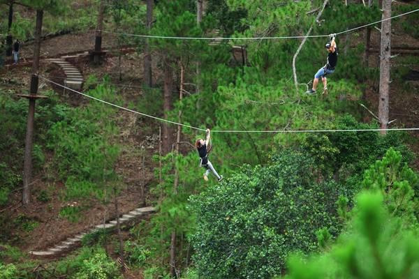 Datanla High Rope Course Đà Lạt