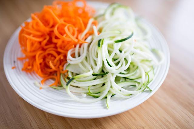 coodles carrot noodles like zoodles