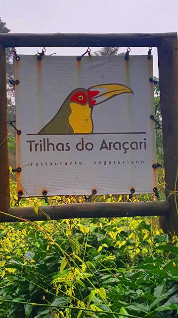 Restaurante vegetariano Trilhas do Araçari, Mury