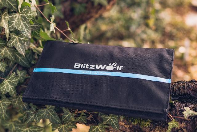Blitzwolf BW-L3 28W 3.8A Outdoor Solarmodul  Solarladegerät  Mobile-Energie 02