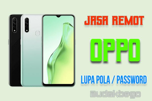 Jasa Remot OPPO Lupa Pola / Password (Khusus MTK)