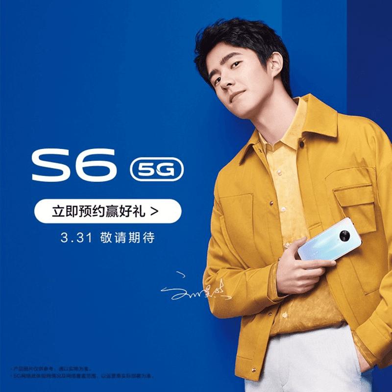 Celebrity endorser Turbo Liu with the Vivo S6 5G