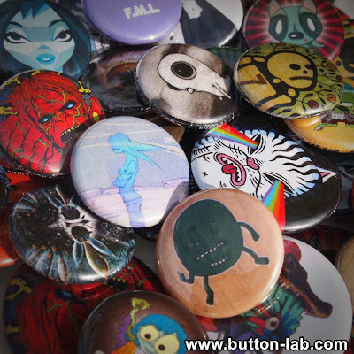 Button Lab Artist Series Blind Bag Button Packs