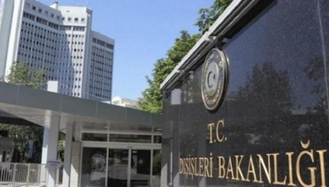 Τουρκικό ΥΠΕΞ: Σύμφωνη με το Δίκαιο της Θάλασσας η συμφωνία με τη Λιβύη