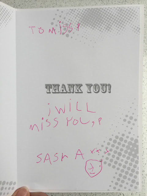 Thank you teacher from Sasha