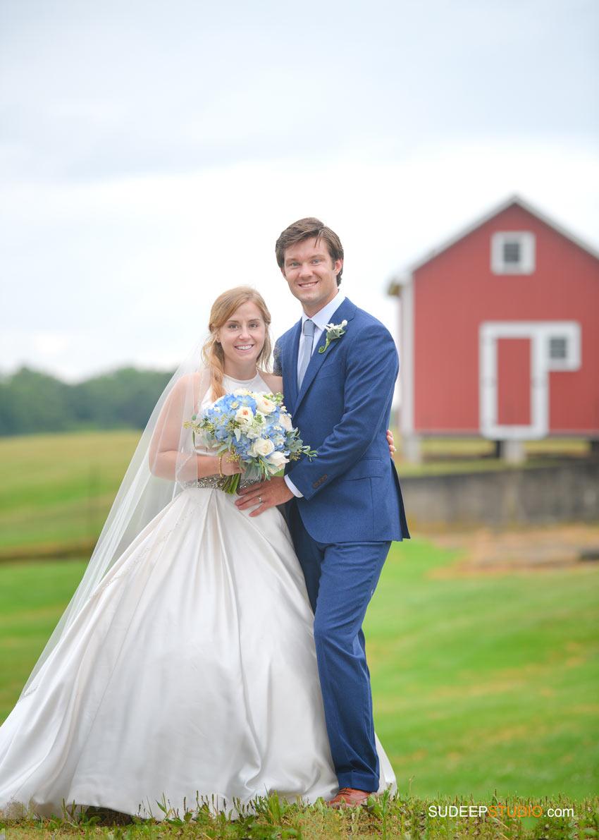 Rustic Farm Barn Wedding Photography in Saline Dexter by SudeepStudio.com Ann Arbor Wedding Photographer