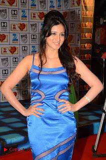 Harshika Poonacha Pictures in Blue Long Dress At Devi Sri Prasad Live Show  ~ Celebs Next