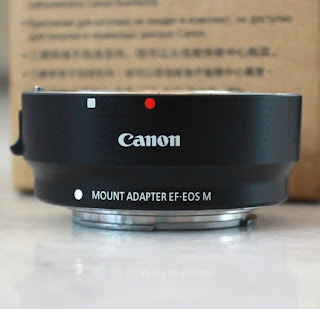 Jual Adapter Canon EOS M to EOS Fullset 2nd