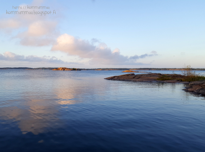 örö maisema kesä 2016 vierasvenesatama tyyni meri