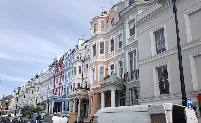 les maisons colorees de notting hill a londres