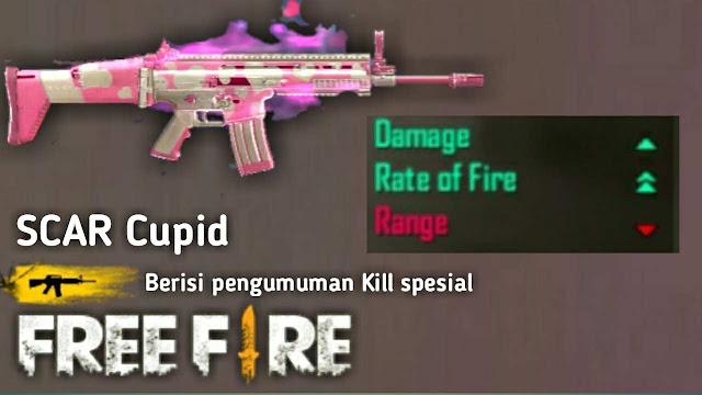 Banyak Dipakai! Inilah 8 Skin Senjata Jarak Jauh (Berpeluru AR) Paling Mematikan di Game Free Fire
