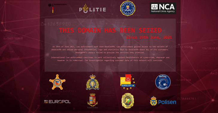 DoubleVPN, a Double-encryption Service Used by Threat Actors Seized by Law Enforcement