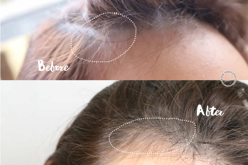 Before After: Korylas Natural Hair Serum