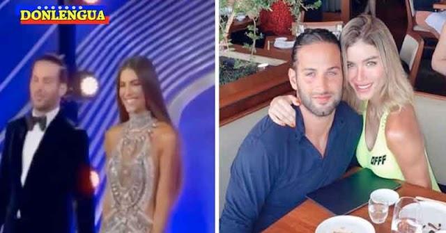 El nuevo amante de Gaby Espino fue escrachado en un restaurant