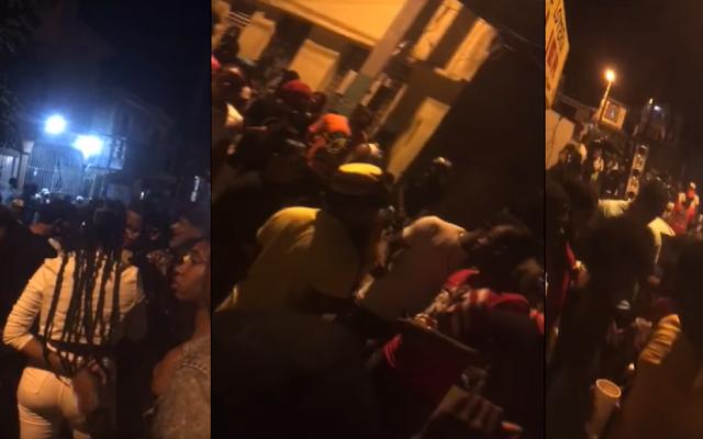 Creen hubo complicidad policial violación del toque de queda y desordenes en SDO durante fin de año