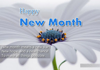 happy new month images