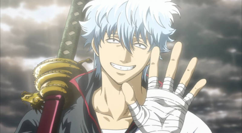 Gintoki z Gintamy