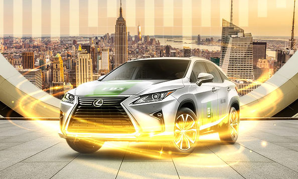 คุณต้องการเป็นผู้โชคดีได้รับรถ LEXUS RX 200T FBS?