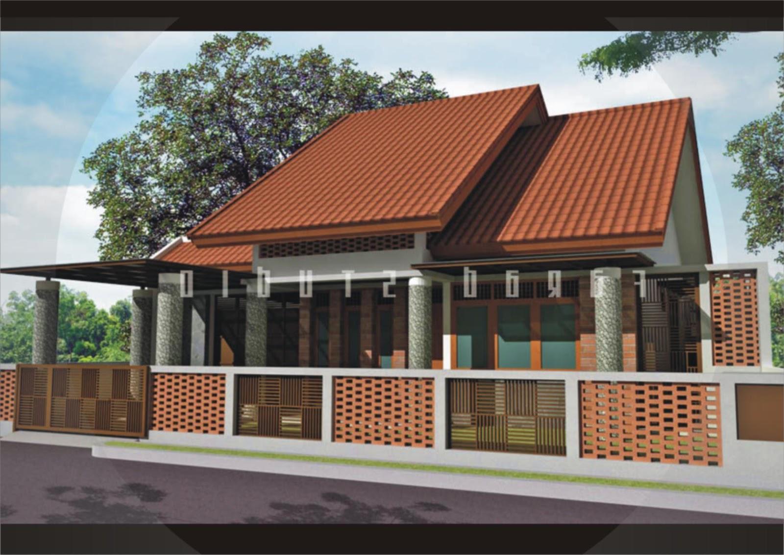 62 Desain Rumah Minimalis Bata Ekspos  Desain Rumah