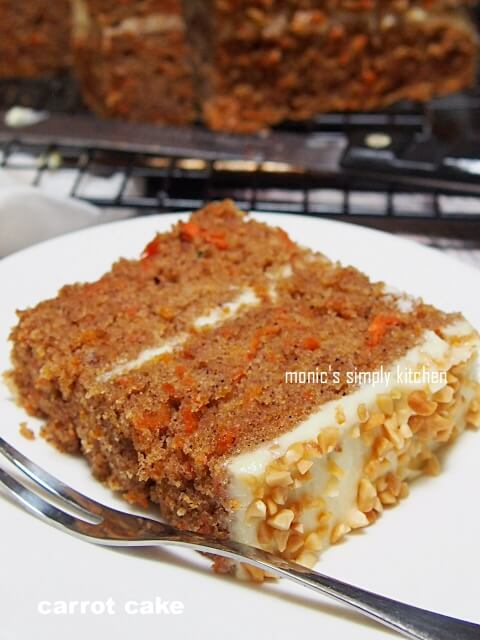 resep carrot cake simple