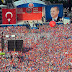 Thousands on the streets to show support for Erdogan