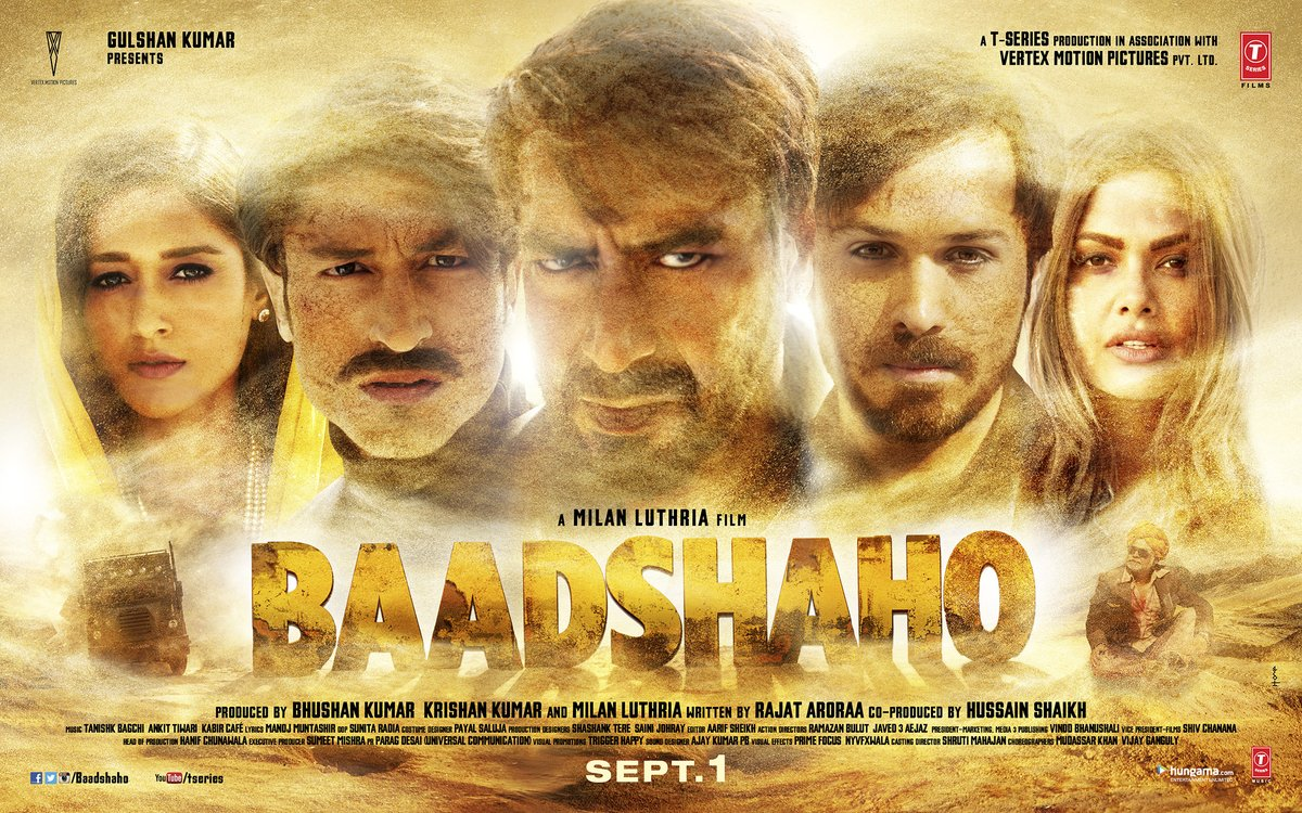 baadshaho trailer dialogues amp posters ajay devgn
