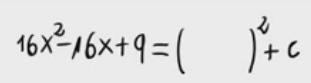 73.Forma útil de expresar un polinomio de grado 2