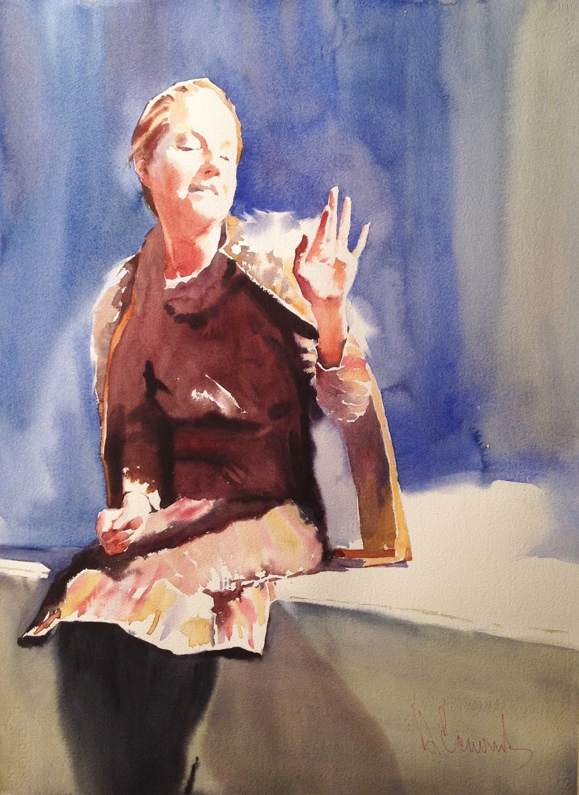 Watercolor artist magazine review - So This Is How I Came But First Not To The Watercolors But Via Watercolor To Oil At The End Of Training I Shifted To Easel Painting