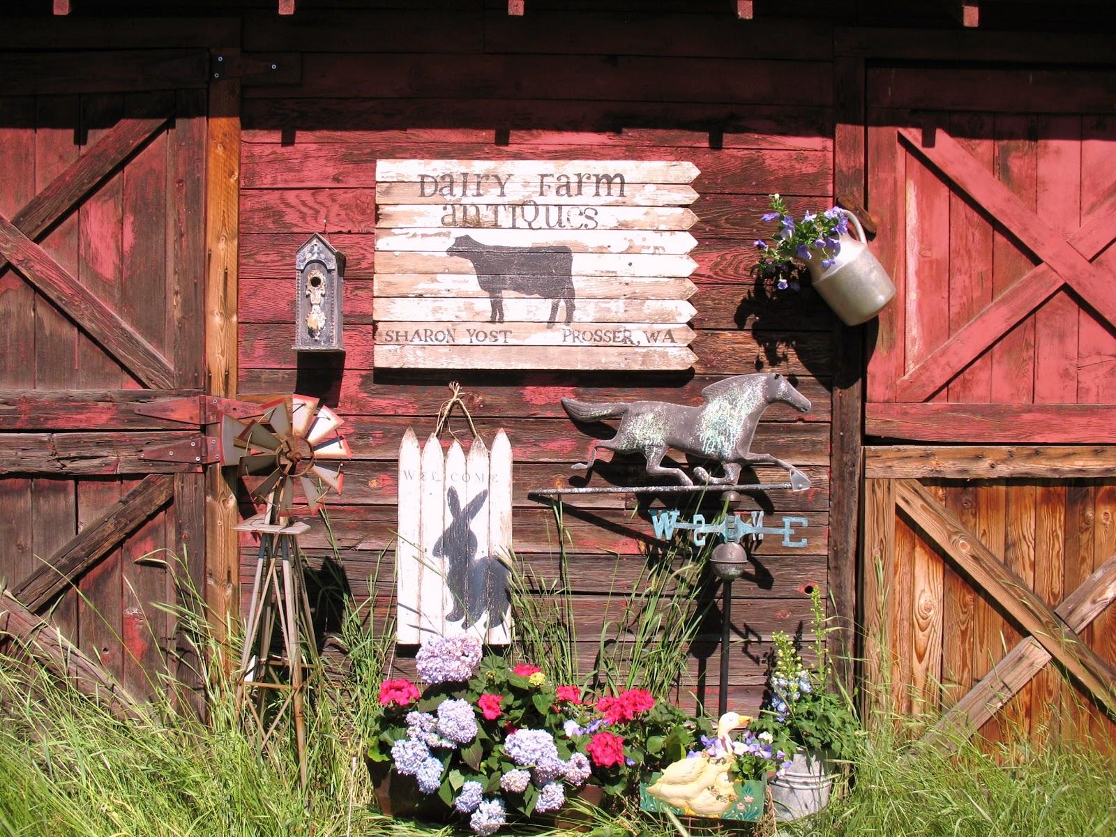 DAIRY FARM ANTIQUES: Quality Farm Items, Decor', Furniture