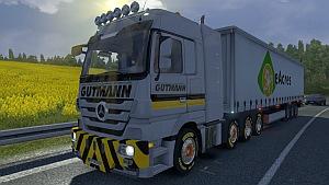 Gutman Actros 8x4