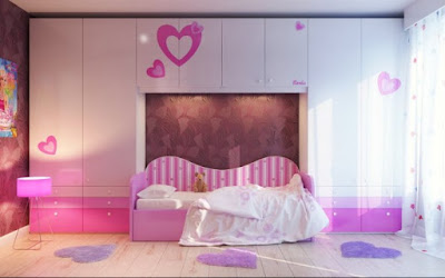 15 Soft & Attractive Girls Bedrooms